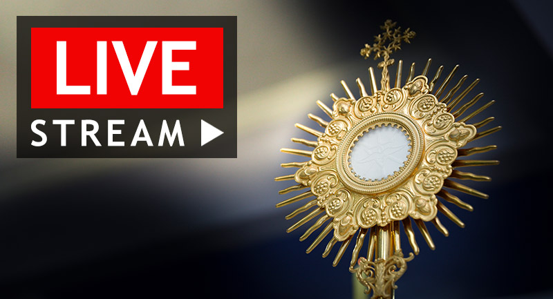 40-Hour Eucharistic Adoration