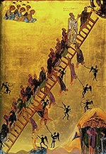 The Ladder of Divine Ascent Monastery of St. Catherine, Mount Sinai, 12th Century