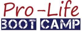 Pro-Life Boot Camp logo