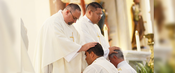 Newly Ordained Priests