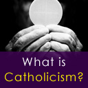 What is Catholicism Button