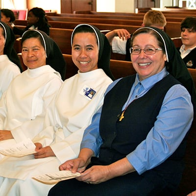 Women Religious Orders Serving In the Diocese